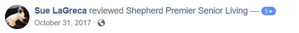 reviews for shepherd senior living