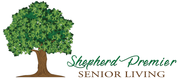 shepherd premier senior living logo