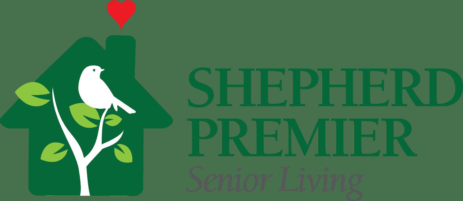 shepherd premier senior living logo