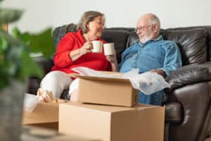 downsizing tips for assisted living