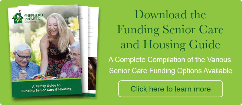 assisted living funding