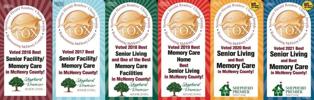 Award banners